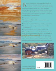 OIL PAINTING PAINTING BOATS AND COASTAL SCENERY BY ROBERT BRINDLEY