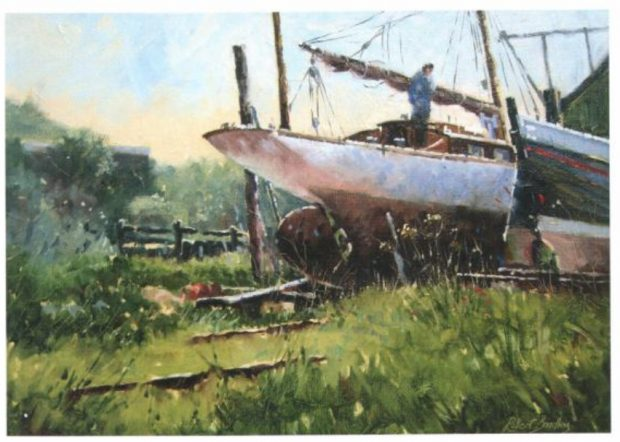 painting boats