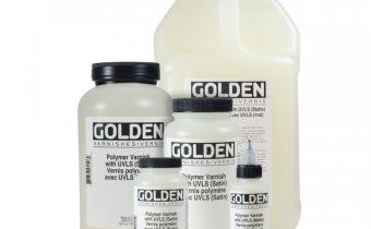 golden polymer varnishes