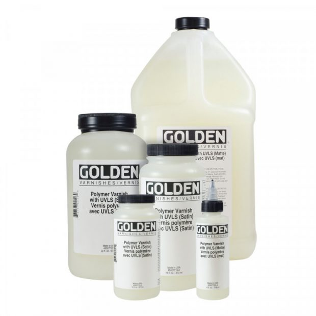 golden polymer varnishes