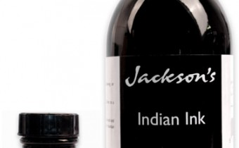 JA Indian inks