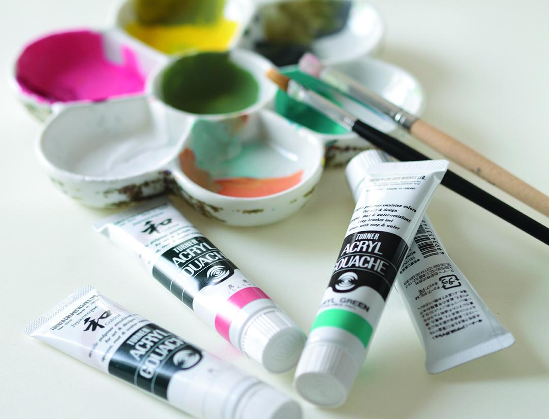 What is Acrylic Gouache? - Jackson's Art Blog