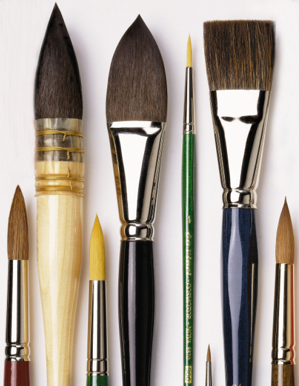 how to make synthetic paint brushes like new