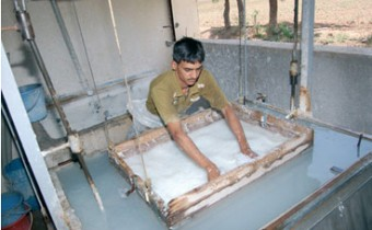 Our Eco Paper being made in India