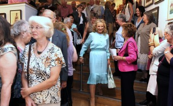 Princess Michael of Kent Arriving at the 2011 Exhibition