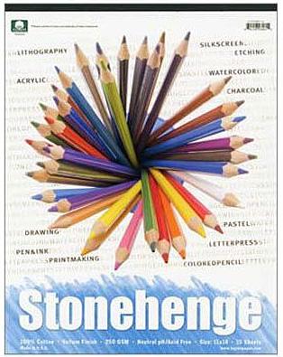 Stonehenge paper pads