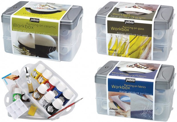 Pebeo craft workboxes jackson 39 s art blog for Pebeo vitrail glass paint instructions