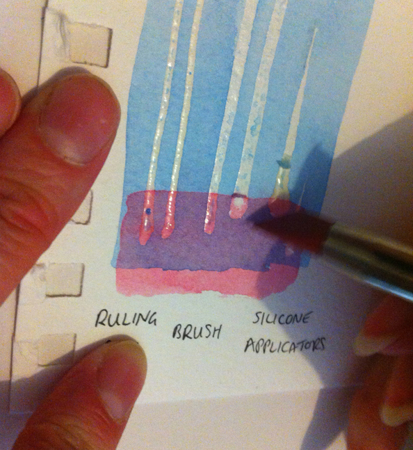 Comparing Masking Fluids - Jackson\'s Art Blog