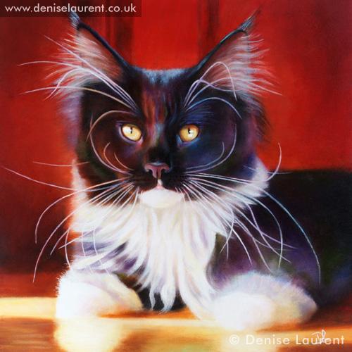 The Delicious Miss Honey Oil Painting Denise Laurent