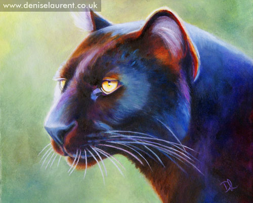 Mystique Oil Painting Denise Laurent