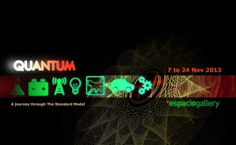 quantum physics art exhibition
