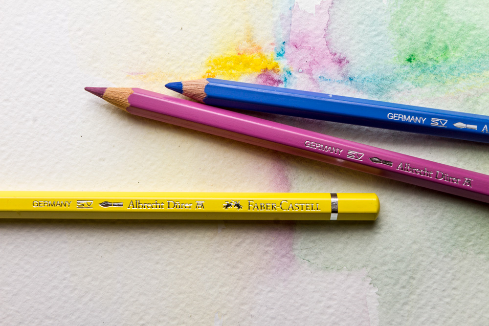 How to use watercolour pencils jacksons art blog