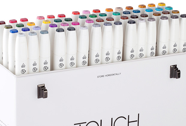 Shin Han Touch Markers and Pads - Jackson's Art BlogJackson's Art Blog
