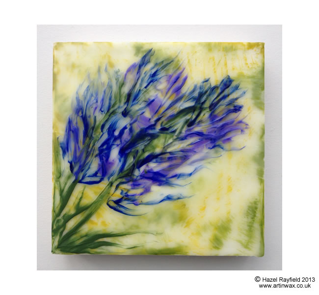 Hazel Rayfield encaustic painting