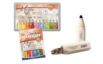 Koh-I-Noor Triangular Coloured Pencil Sets