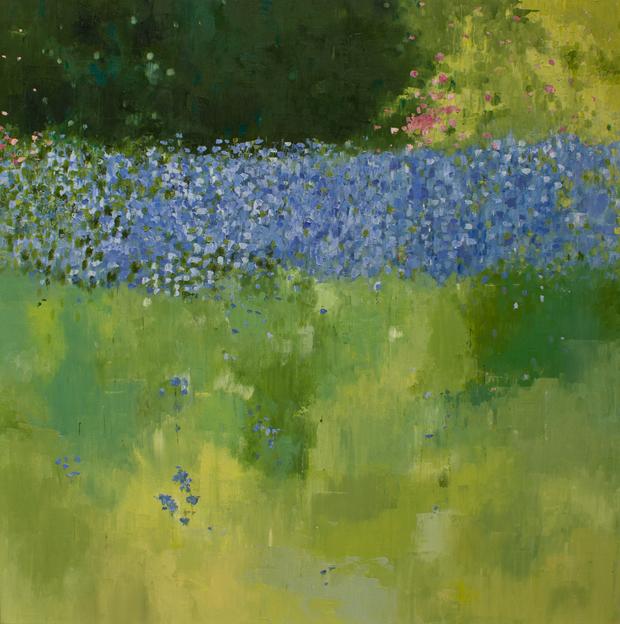 'Persephone' by Sandra Robinson, Oil on Canvas, 90cm x 90cm, 2013