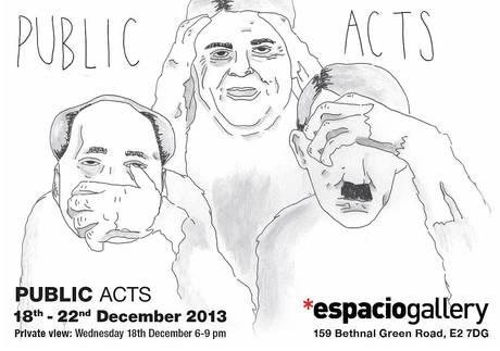 Public Acts Exhibition At Espacio Gallery