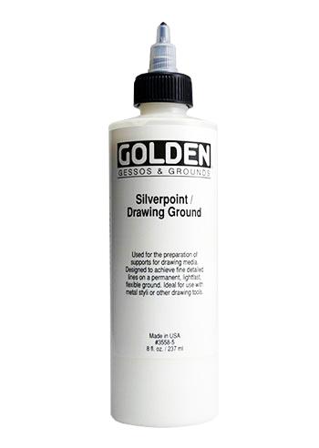 Golden Acrylic Medium : Silver Point Ground
