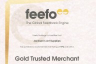 jacksons art supplies feefo rating