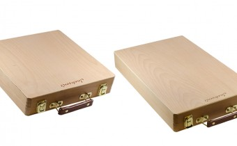 Jacksons Wooden Pastel Travel Cases