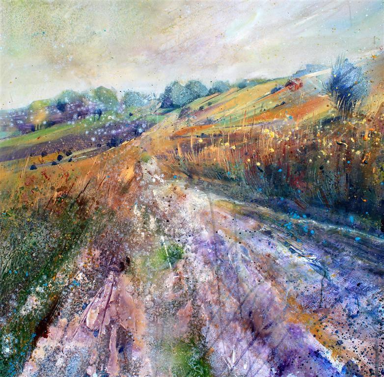 Broadstone - Ashdown Forest Acrylic on canvas  90 x 90cm  2013