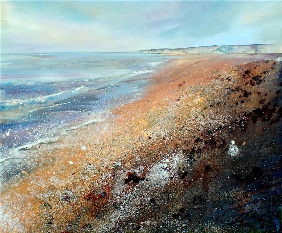 Sussex Shore II Acrylic on canvas 120 x 100cm  2013