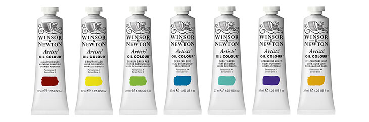 Winsor & Newton Artists' Oil Colour jacksonsart.com