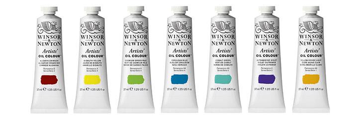 Winsor & Newton Artists' Oil Colour jacksonsart.com