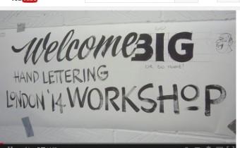 signwriter workshop video Handover jacksons