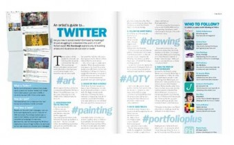 artists and illustrators magazine twitter article