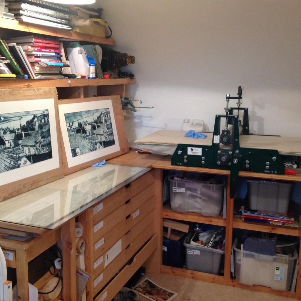 Suzie MacKenzie's studio