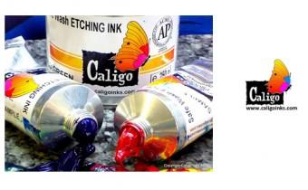 Caligo Safe Wash Oil Etching Inks