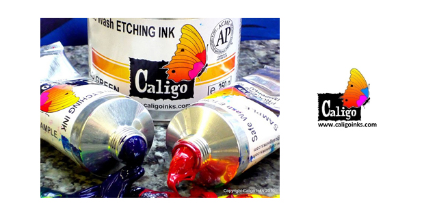 Caligo Safe Wash Oil Etching Inks
