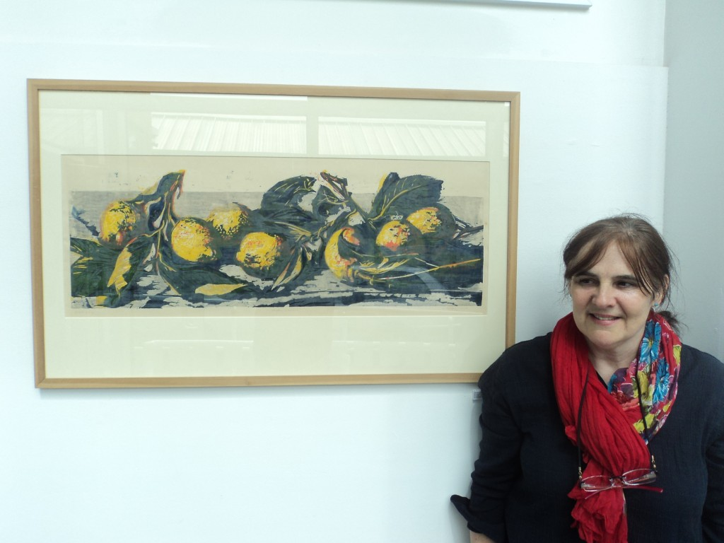 Hilary Daltry with 'Seven Lemons'