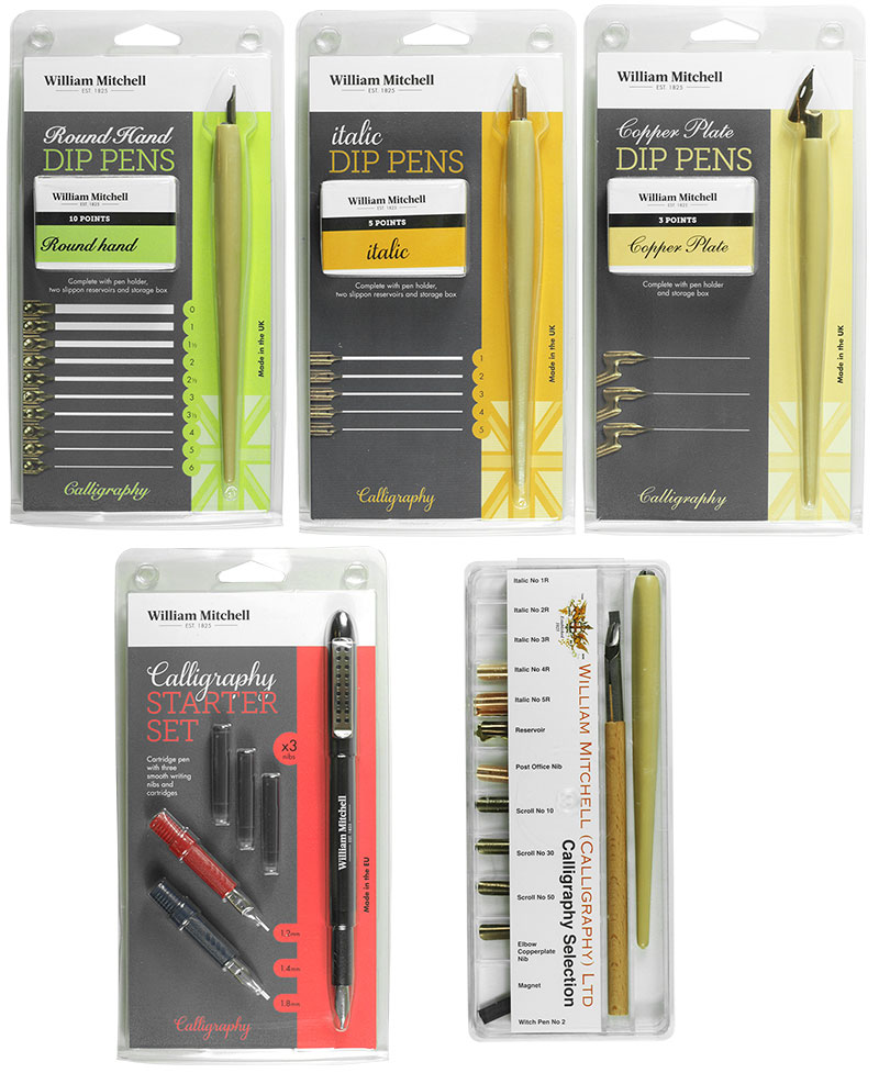 William Mitchell Calligraphy And Drawing Pens Jackson 39 S