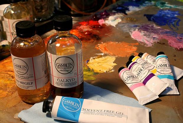 Gambli oil colour and oilpainting mediums jacksonsart.com