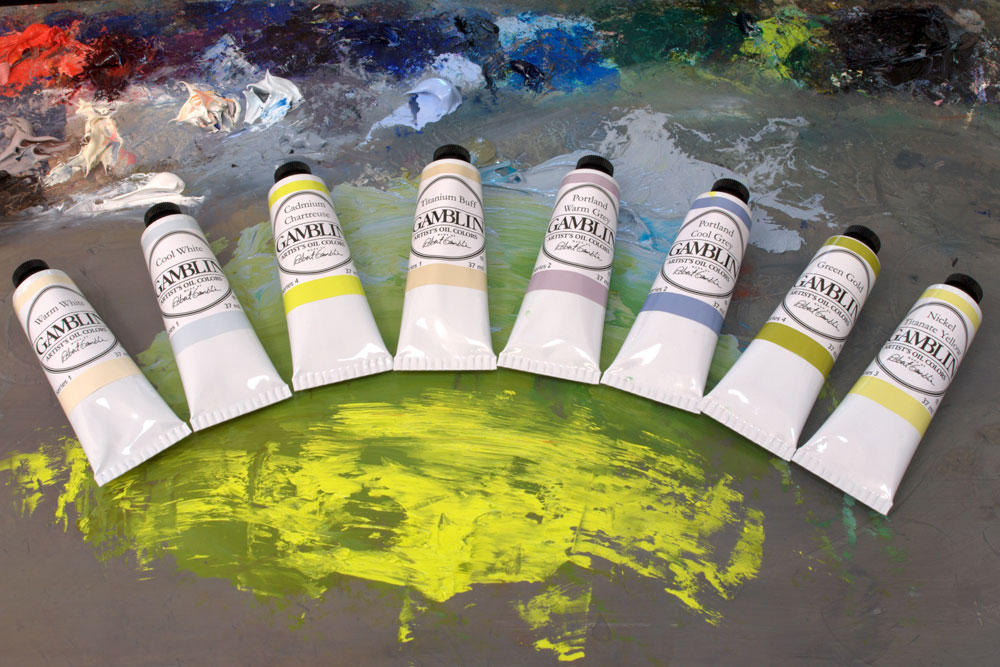 Gamblin oil colour and oil painting mediums jacksonsart.com