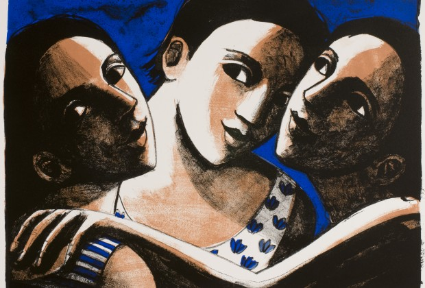 'Grown-up Daughters' by Anita Klein lithograph - edition of 25