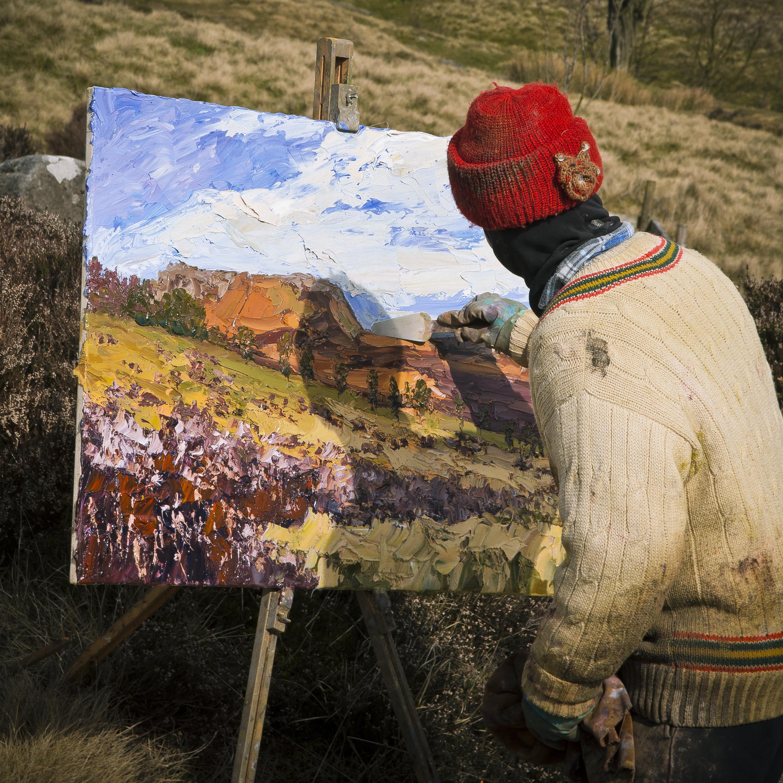 En Plein Air Oil Painting