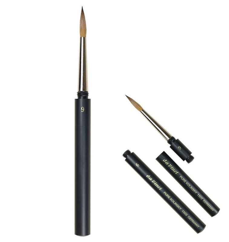 Da Vinci Kolinsky Sable Pocket Brush jacksons art supplies travel brush