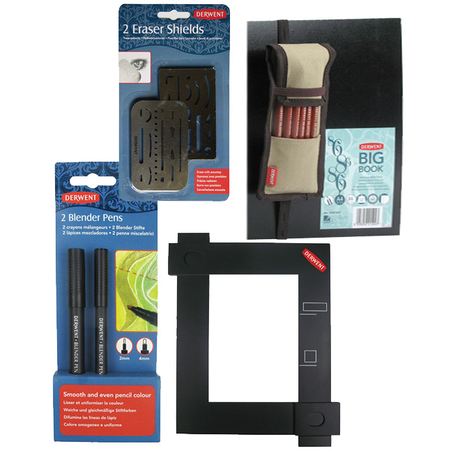 New Derwent Drawing Tools and Cases - Jackson's Art Blog