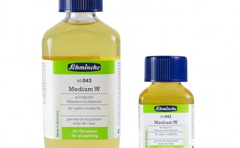Schmincke Medium W : Makes Oil Paint Water Mixable jacksons art supplies