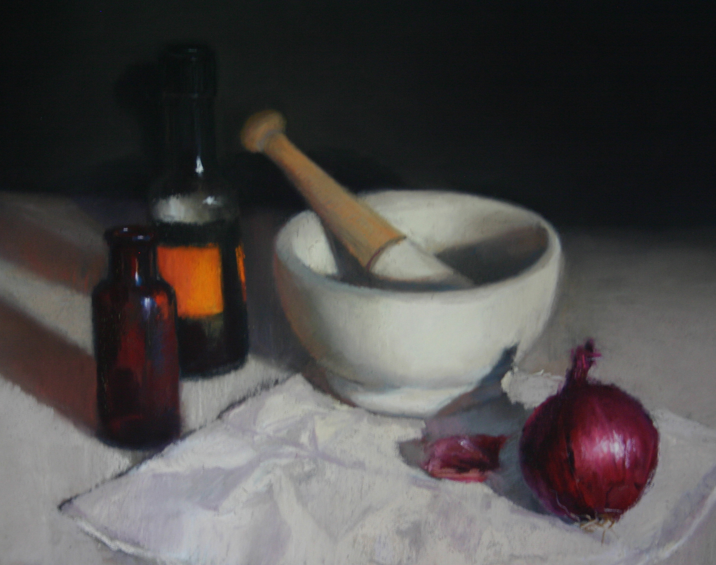 Pestle and Mortar by Liz Balkwill