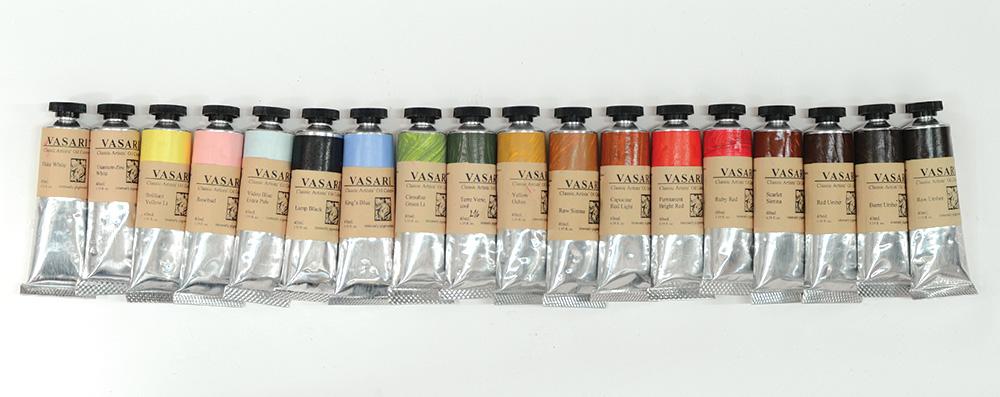 Vasari Classic Artists Oil Colors - YouTube