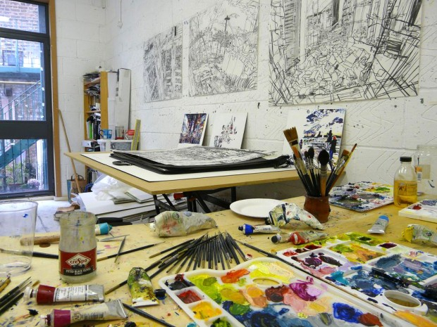 The Chocolate Factory N16 is home to 27 studios of artists, illustrators, ceramicists, printmakers, lighting designers, illustrators, painters, photographers, film makers and graphic designers. Twice a year we open our doors to the public.