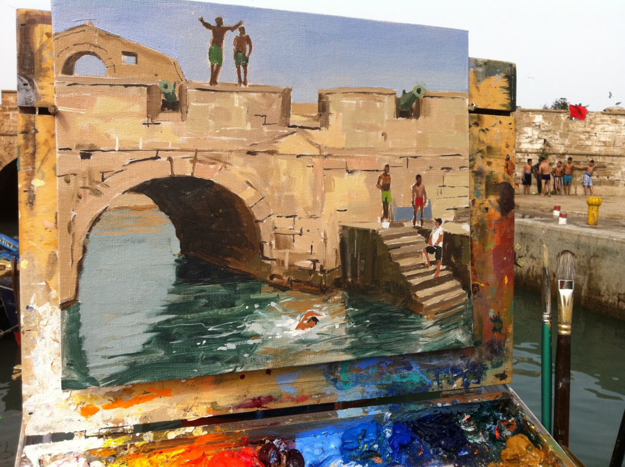 Haidee jo plein air painter of the moment jackson 39 s art for Call for mural artists 2014