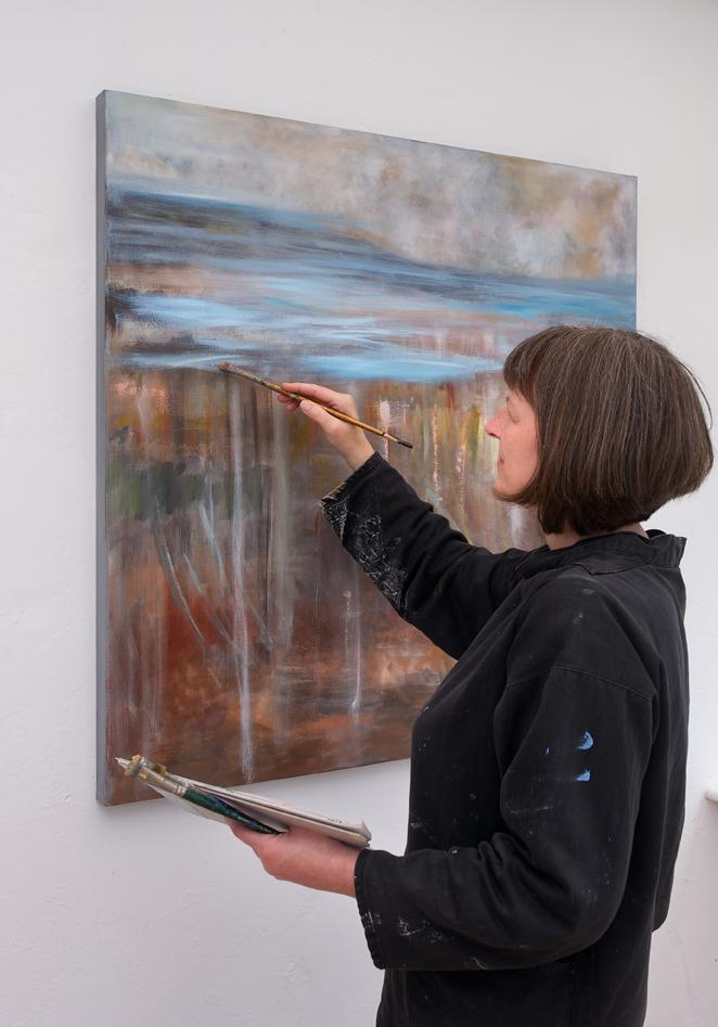 Anna Wilson Patterson in her studio