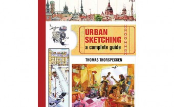 Urban Sketching: The Complete Guide to Techniques book by Thomas Thorspecken