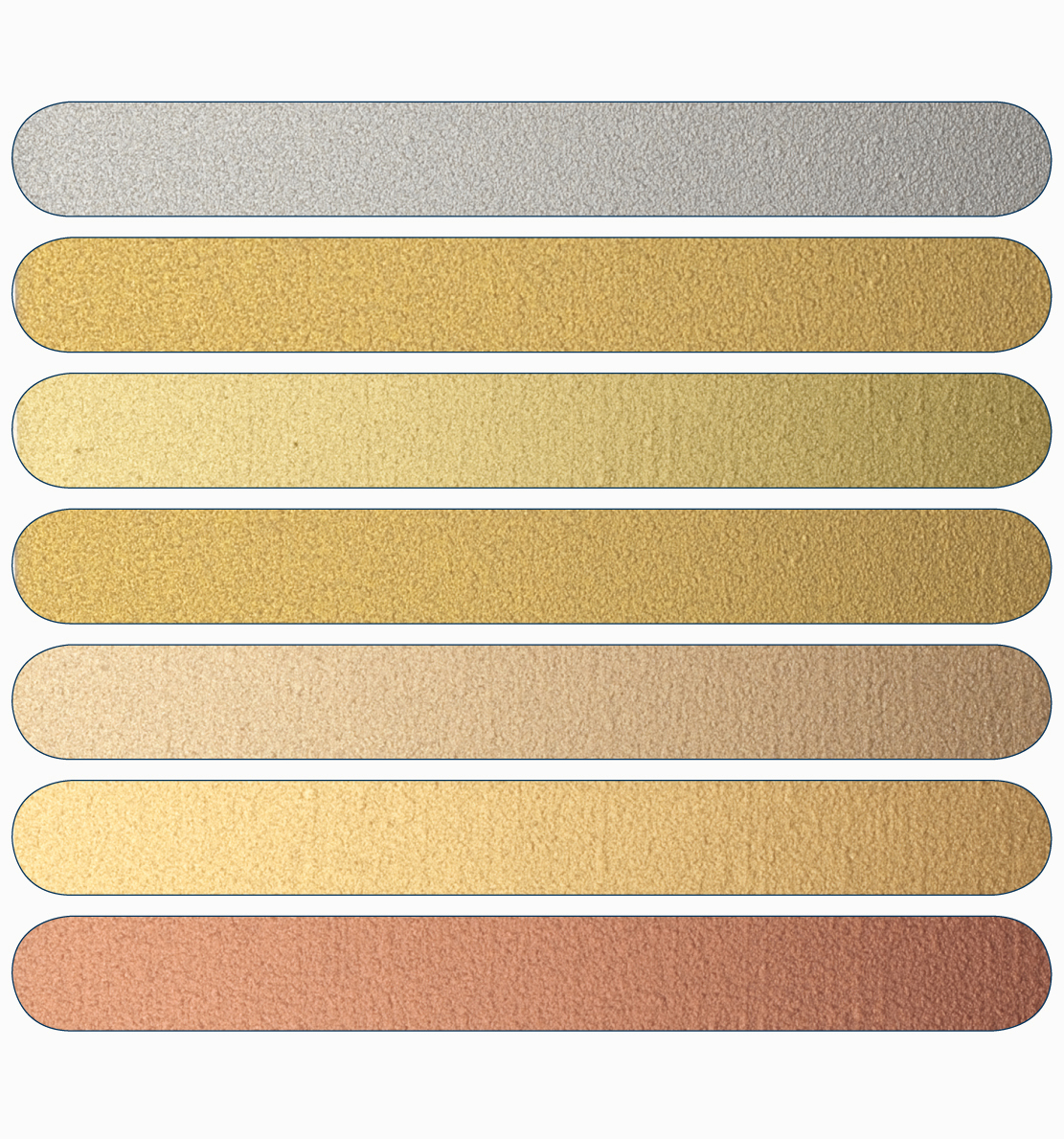 Mussini Oils Gold Colours