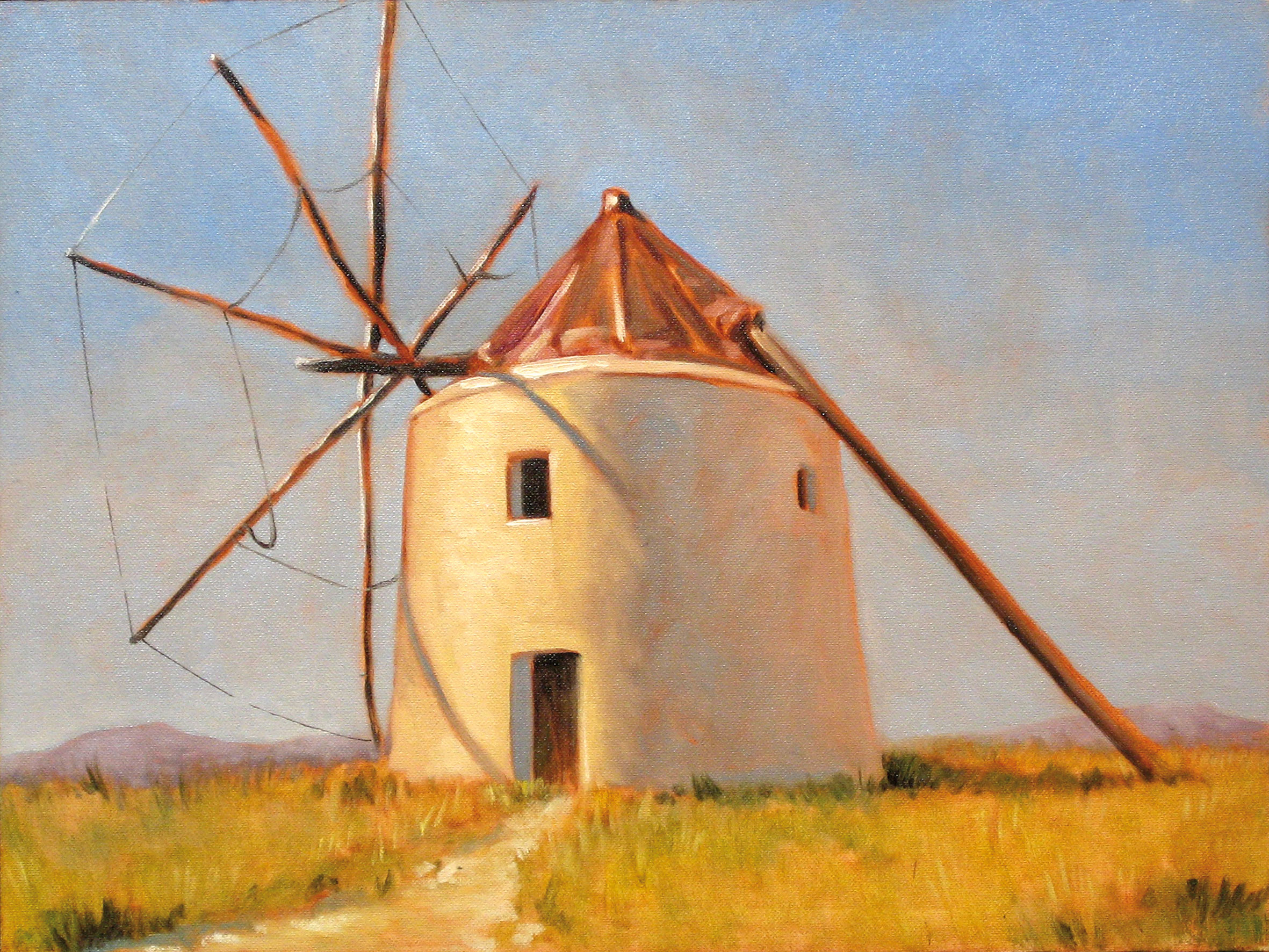 Spanish Windmill Oil Painting Tutorial Jackson S Art Blog